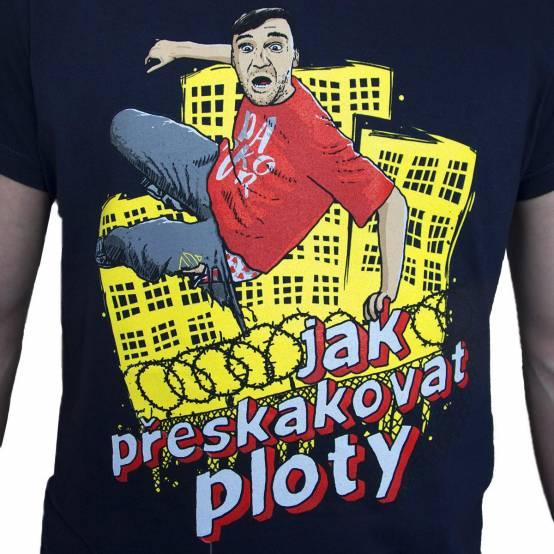 Tričko pro parkour Ploty