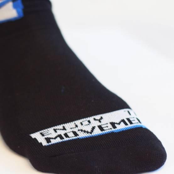 Ponožky Enjoy the Movement Černé pro parkour