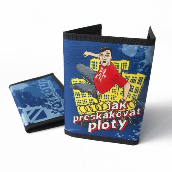 Peněženka Ploty pro parkour