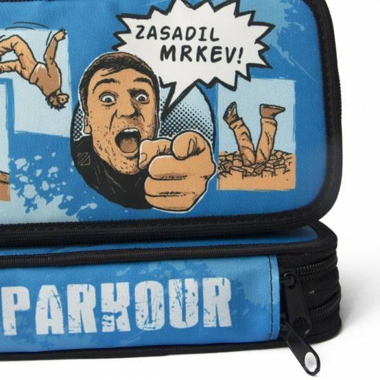 Školní Penál Mrkev pro parkour