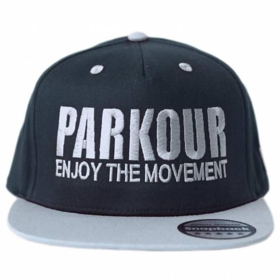 Snapback Parkour Šedý