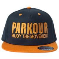 Snapback Parkour Oranžový