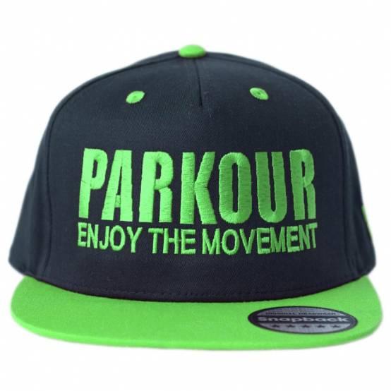Snapback Parkour Zelený