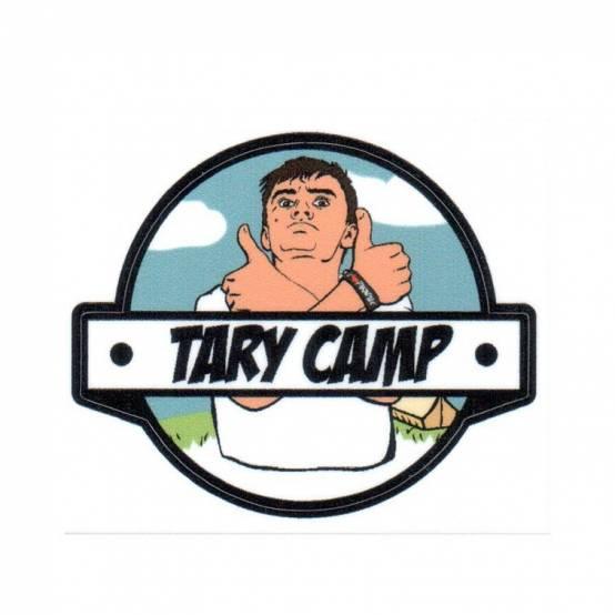 Samolepka Tary Camp