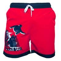 Plavky Parkour Červené