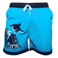 Plavky Parkour Modré