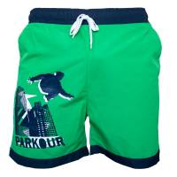 Plavky Parkour Zelené
