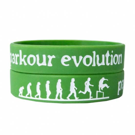 Náramek Parkour Evolution Zelený
