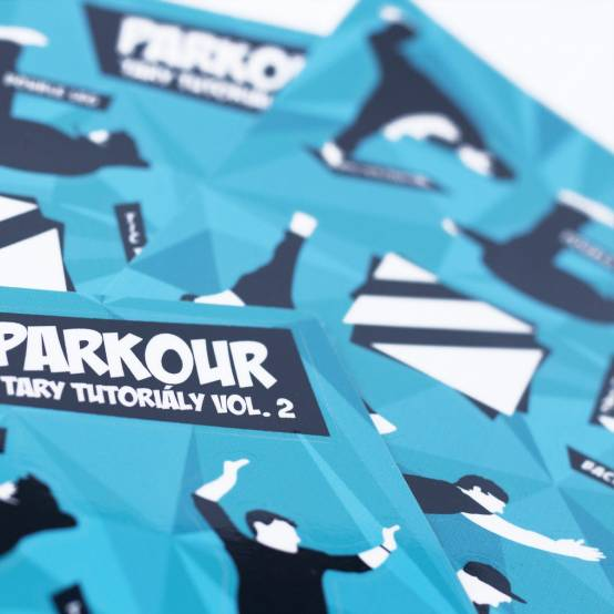 Sada samolepek Tary Tutoriály Vol. 2 pro parkour