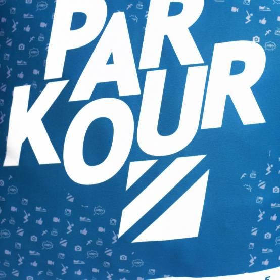 Polštář Enjoy the Movement Modrý pro parkour