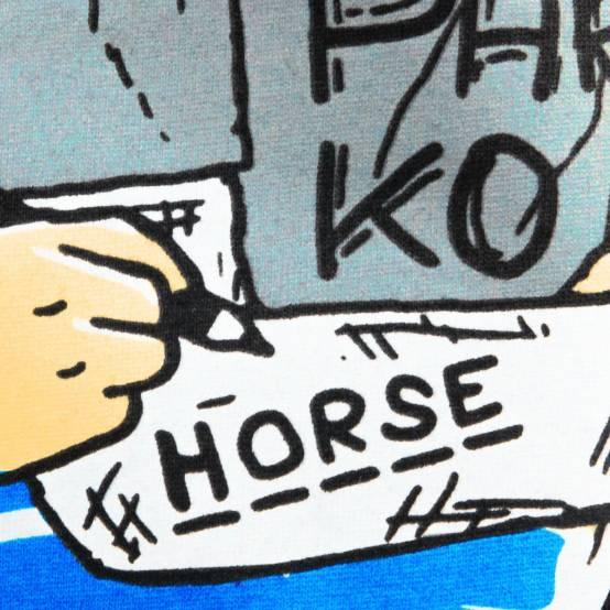 Tričko pro parkour Horse Challenge