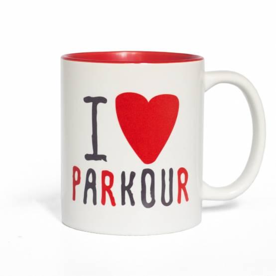 Hrnek Miluju Parkour