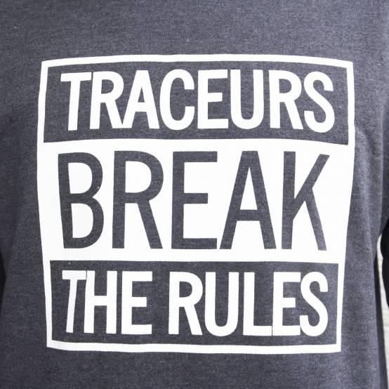 Mikina pro parkour Break Rules