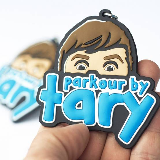 Klíčenka Parkour By Tary pro parkour