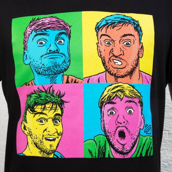 Tričko pro parkour Tary Pop Art Faces