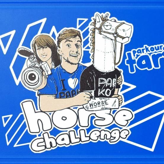 Svačinový box Horse Challenge pro parkour