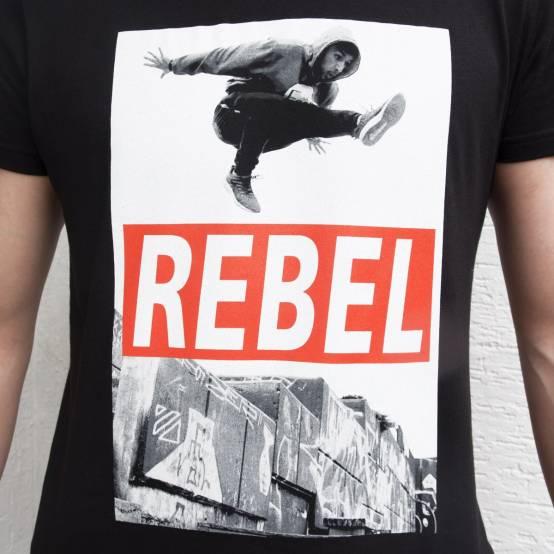 Tričko pro parkour Rebel