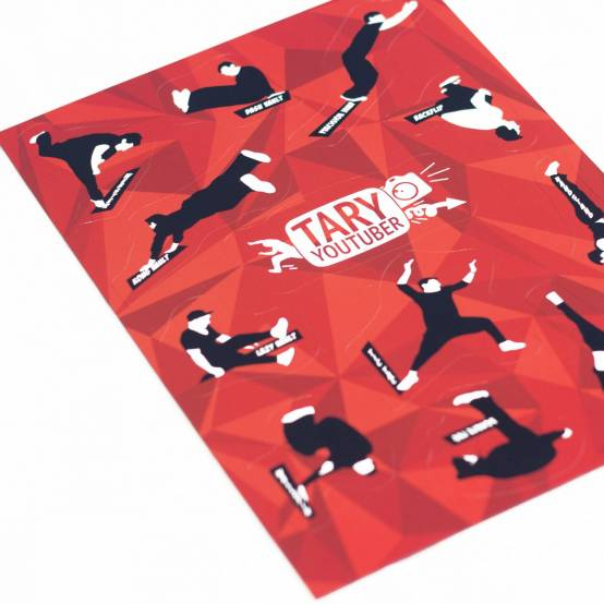 Magnetky 12ks na ledničku Parkour Triky Tary pro parkour