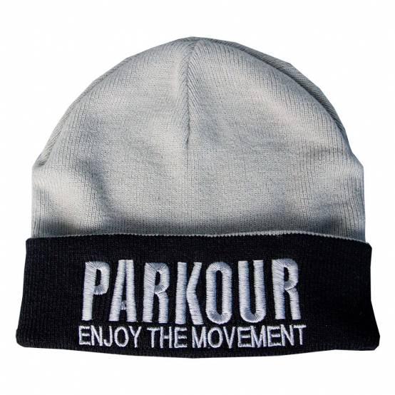 Zimní kulich Parkour Šedý