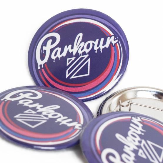 Odznáček Sweet Parkour pro parkour