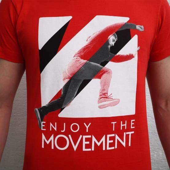 Tričko pro parkour Jump Over Logo
