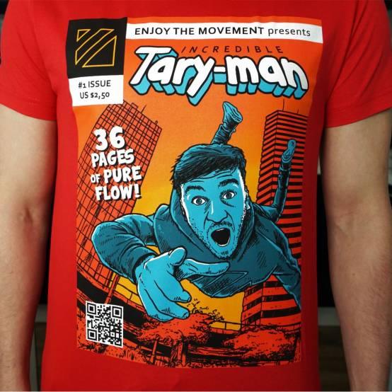 Tričko pro parkour Tary-man