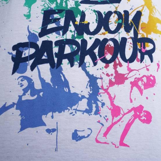 Tričko pro parkour Color Jumps