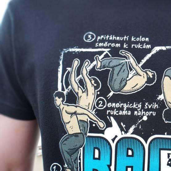 Tričko pro parkour Backflip Tutoriál