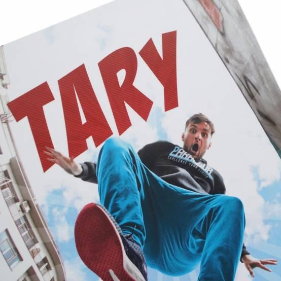 Knížka Tary, příběh parkouristy pro parkour