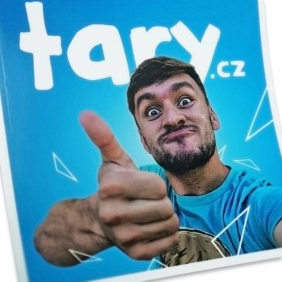 Samolepka Tary.cz velká pro parkour