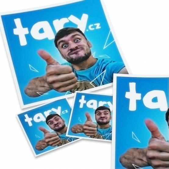 Samolepka Tary.cz malá pro parkour