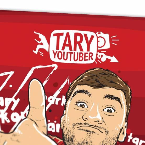 Plakát Tary Youtuber pro parkour