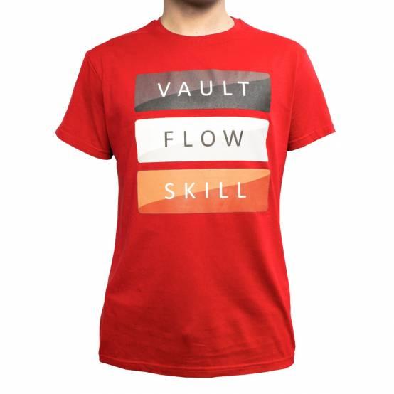 Tričko Vault Červené
