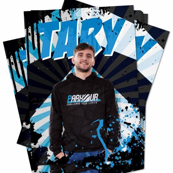 Plakát Tary pro parkour