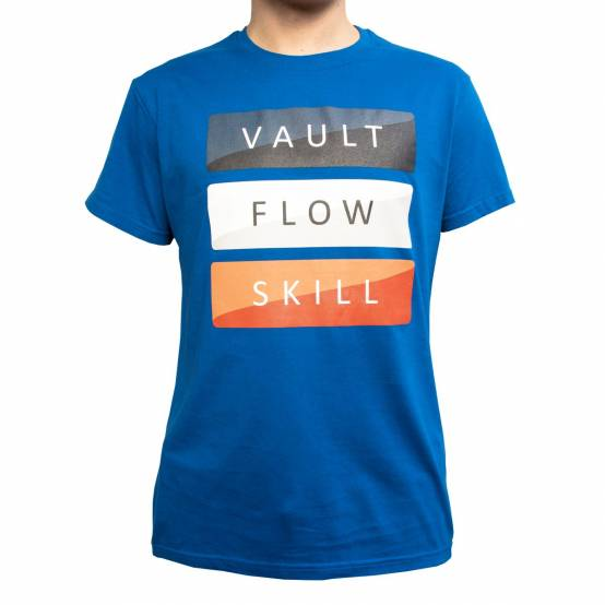 Tričko Vault Modré
