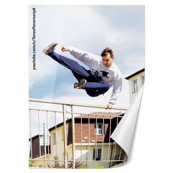 Plakát Tary Speed Vault pro parkour