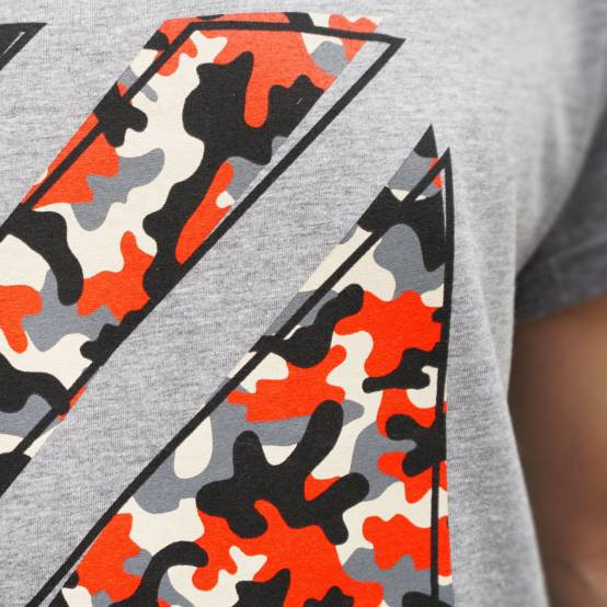 Tričko pro parkour Camouflage orange