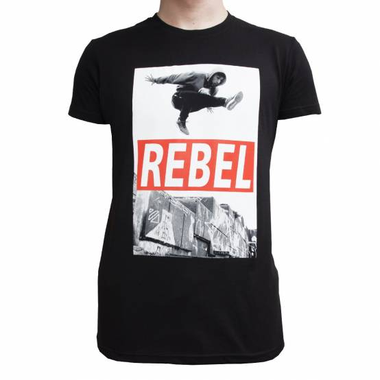 Tričko Rebel Černé