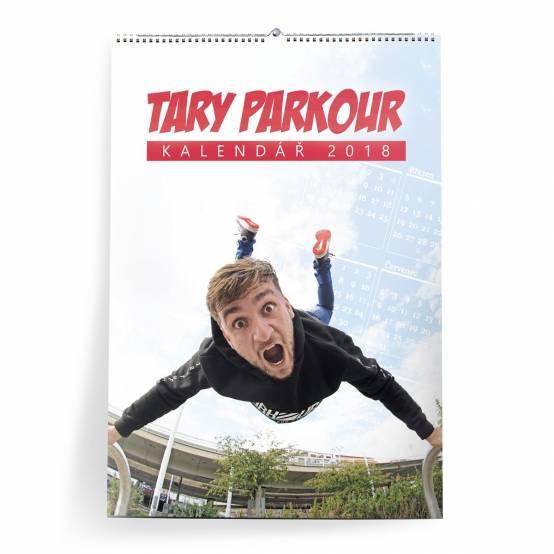 Kalendář 2018 Tary Parkour