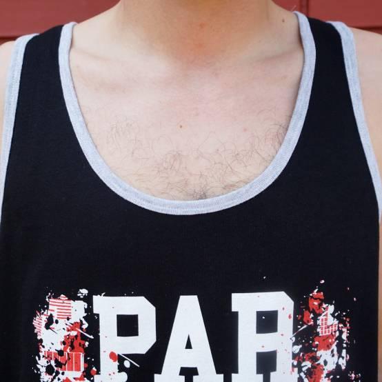 Tílko pro parkour Parkour City Černé