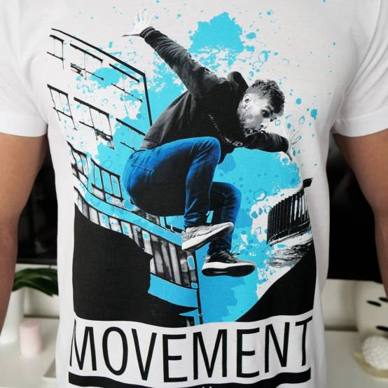 Tričko pro parkour Parkour Movement