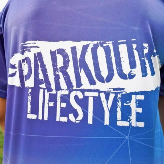 Tričko pro parkour Parkour Lifestyle 3D