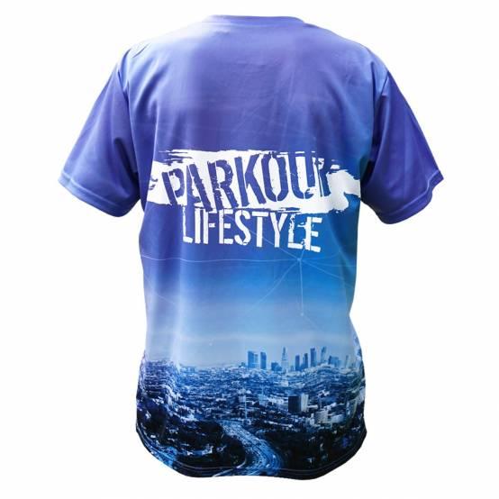 3D Tričko pro parkour Parkour Lifestyle