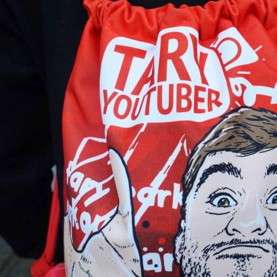 Sportovní Vak Tary Youtuber pro parkour