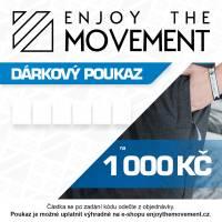 Dárkový poukaz Enjoy the Movement 1 000 Kč