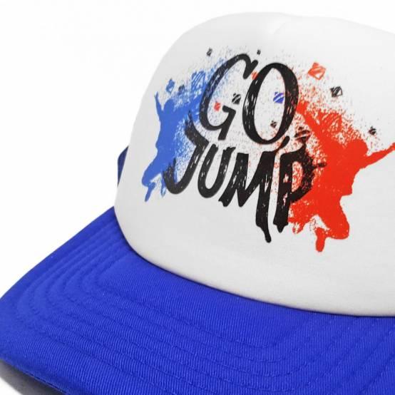 Kšiltovka Go Jump Modrá pro parkour