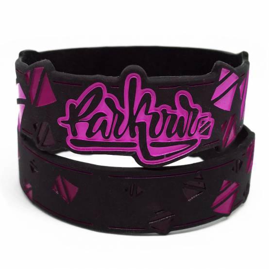 Náramek Parkour Graffiti Růžový pro parkour