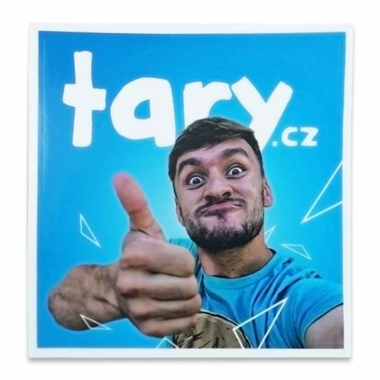 Samolepka Tary.cz malá
