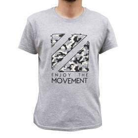 Tričko pro parkour Gray Camouflage e8e468dd8c