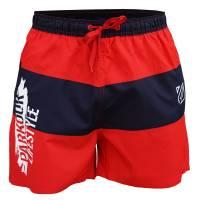 Plavky Parkour Lifestyle červeno-modré